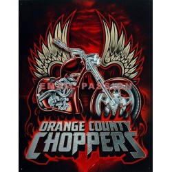 Plaque métal publicitaire 30 x 40 cm : Orange County Choppers.