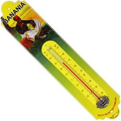 Thermomètre  bombé hauteur 30cm  Banania