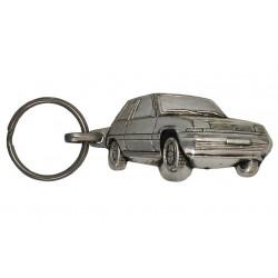 Porte-clés nickelé Renault 5 GT.