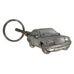 Porte-clés nickelé  Mercedes.