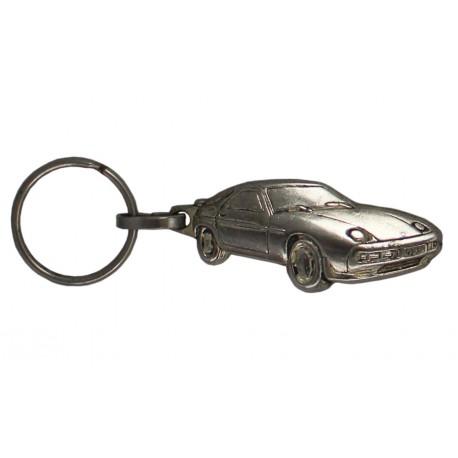 Porte-clés nickelé  Porsche.