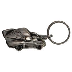 Porte-clés nickelé  Opel