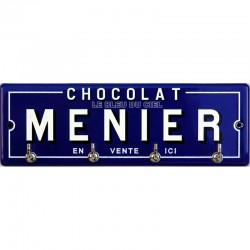 Accroche clés, torchons, etc... émaillé : Chocolat Menier