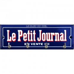 Accroche clés, torchon, etc.. émaillé : Le Petit Journal
