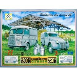 plaque métal publicitaire 30x40cm relief : Utilitaires des années 50.