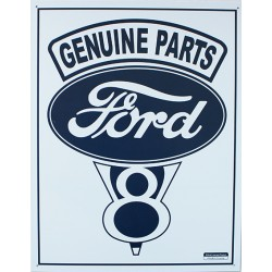 plaque métal publicitaire 30x40cm plate :  FORD GENUINE PARTS