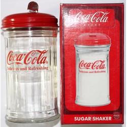 Sucrière COCA COLA 14 x 7cm verre.