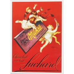 Carte Postale au format 15x21cm Chocolat Suchard Milka