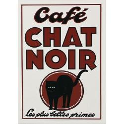 Carte Postale au format 15x21cm Café CHOCOLAT NOIR