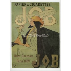 Carte Postale  Cigarette JOB