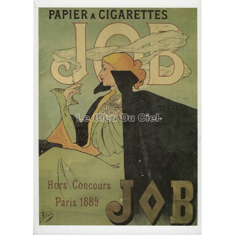 Carte Postale Cigarette JOB