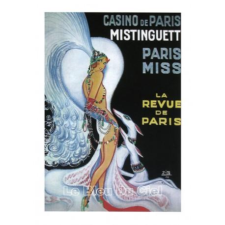 Carte Postale MISTINGUETTE