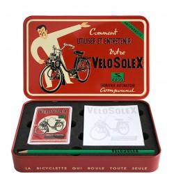 Coffret métal cartes à jouer : VeloSolex.