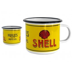 Mug émaillé collection SHELL