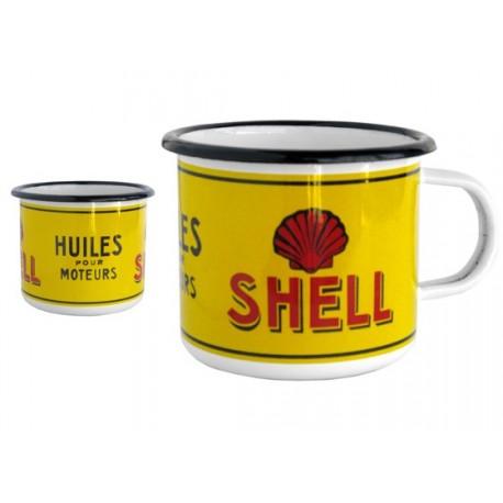 Mug émaillé collection SHELL