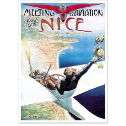 Meeting aviation Nice 15x21