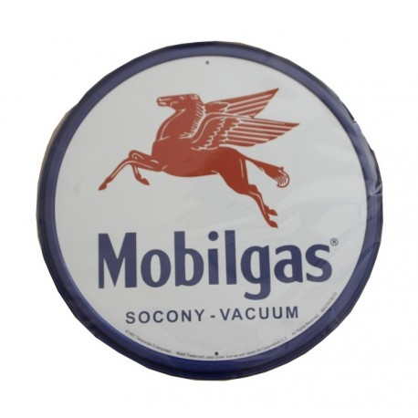 plaque publicitaire diamètre 30cm : MOBLIGAS