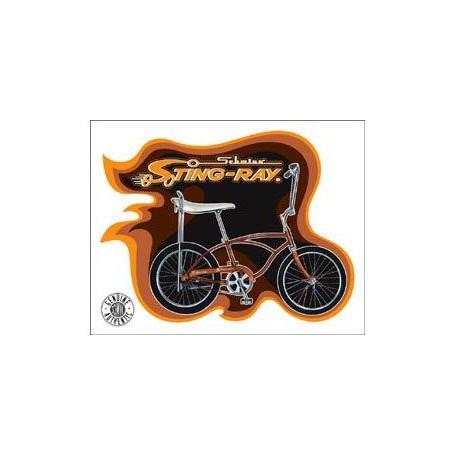Plaque métal publicitaire 30x40cm plate : STING-RAY