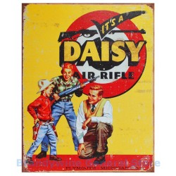 Plaque métal publicitaire 30x40cm plate : Daisy Air Rifle