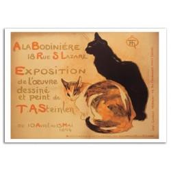 Plaque métal publicitaire 30x40 cm plate  : A LA BODINIERE