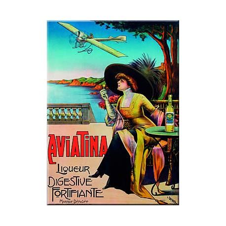 Plaque métal publicitaire 15x20cm plate :  MONTMARTRE