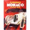 Plaque métal publicitaire 30 x 40 cm : Monaco Grand Prix 1930