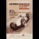 plaque métal publicitaire 20x30cm bombée en relief :  Audi Oldtimer Grand Prix 84