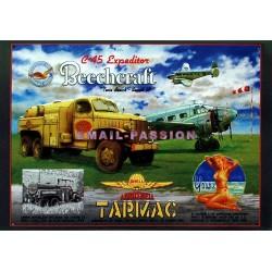 Plaque métal publicitaire 30x40cm plate : C45 Expéditor Beechcraft