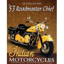 Plaque métal publicitaire 30x40cm plate :  Rodmaster chief