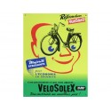 Plaque métal publicitaire 30x40cm plate en relief : Vélosolex