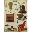 Plaque métal publicitaire 30x40cm plate : LE PAIN