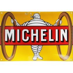 Plaque émaillée  : PNEU MICHELIN