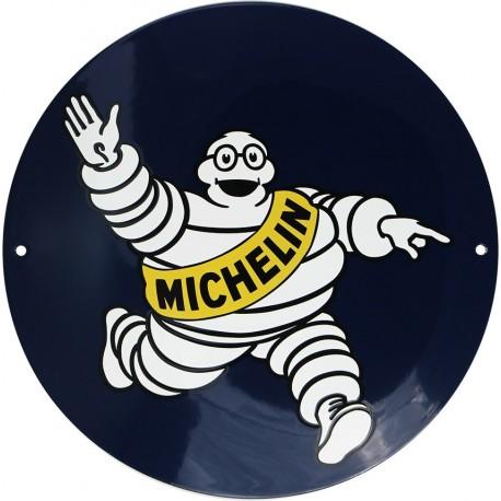 Plaque émaillée : MICHELIN