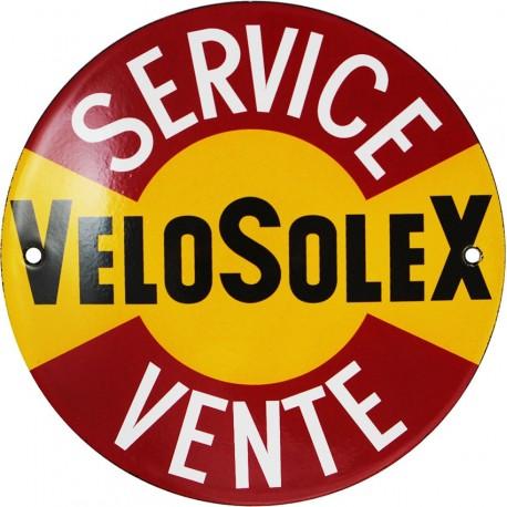 Plaque émaillée: VÉLOSOLEX.
