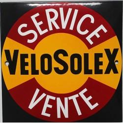 Plaque émaillée : VÉLOSOLEX.