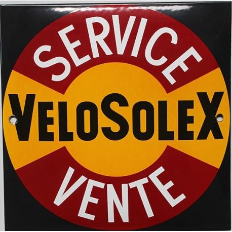 Plaque émaillée : VÉLOSOLEX