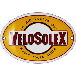 plaque émaillée : VELOSOLEX.