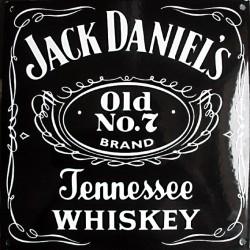 Plaque émaillée : JACK DANIEL'S.
