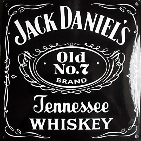 Plaque émaillée : JACK DANIEL'S