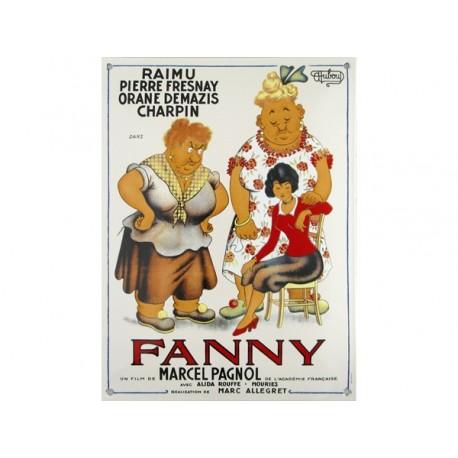 Plaque émaillée  : FANNY DE M.  PAGNOL.