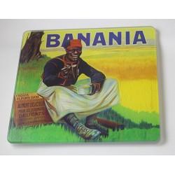 Dessous de plat en verre lisse Banania