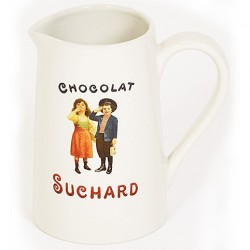 Pichet céramique : collection SUCHARD