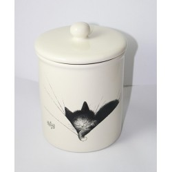 "Grand pot chat gros dodo"" céramique dim : 20x15c"""