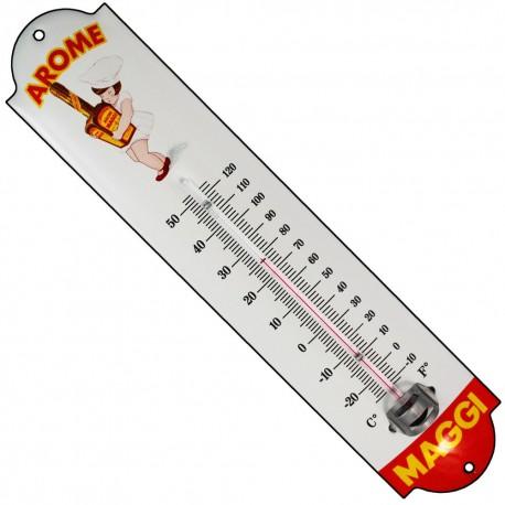 Thermomètre émaillé hauteur 30cm : AROME  MAGGI