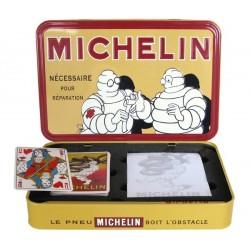 Michelin, coffret carte à jouer dim : 20 x 13 x 3 cm + bloc note.