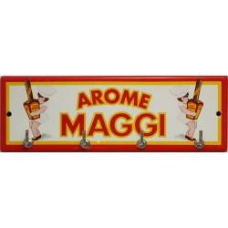 Accroche clés, torchons, etc.. émaillé : Arome Maggi