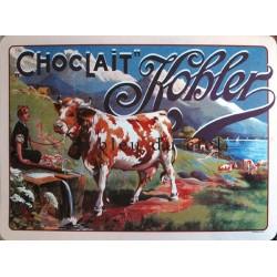 SET de table pvc flexible Chocolat kohler dim : 45x30cm