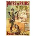 Carte Postale au format 15x21cm Patés de Reims, Villain