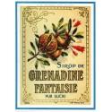 Carte Postale au format 15x21cm Sirop de Grenadine