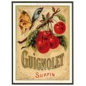 Carte Postale au format 15x21cm Guignolet surfin